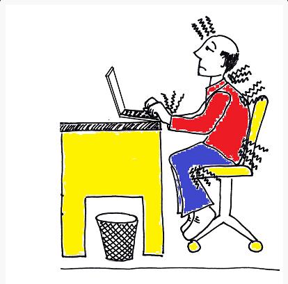לשמור על הגב שלך במשרד