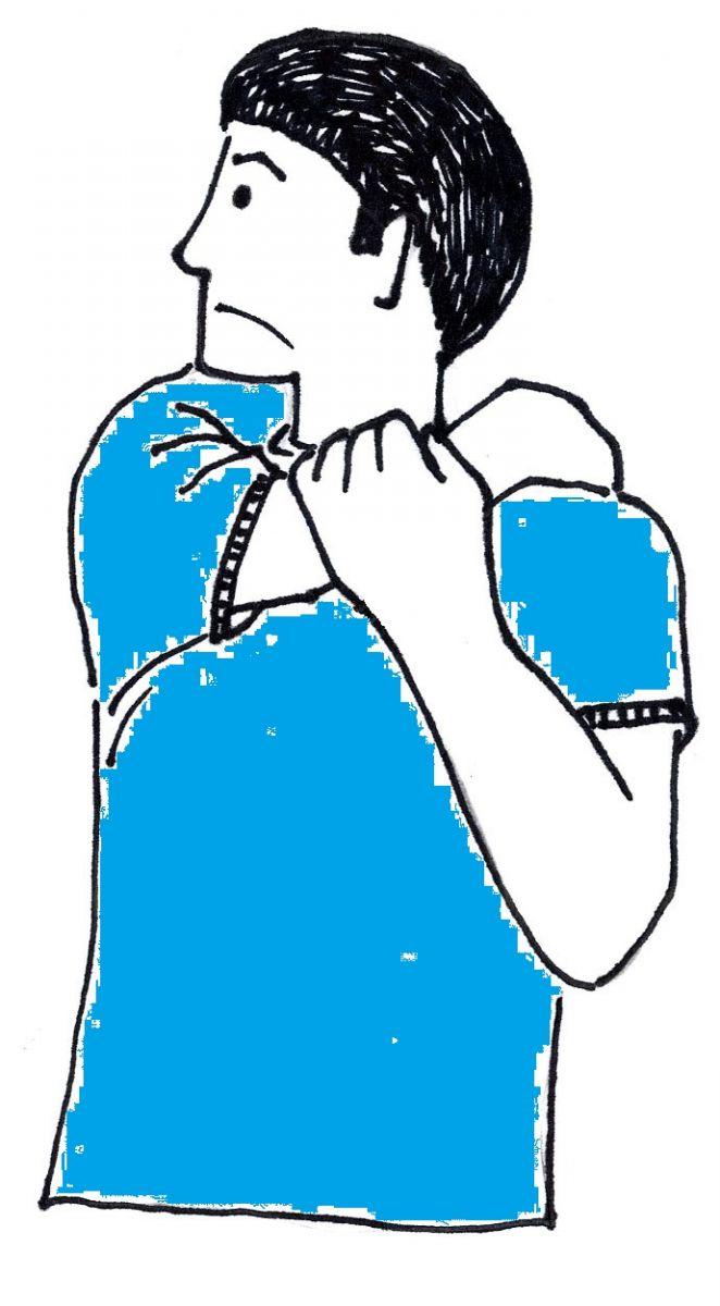 טיפול בכאבי גב עליון