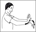 תרגיל לגמישות כף יד